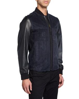 91265bb81 Men's Designer Bomber Jackets at Neiman Marcus