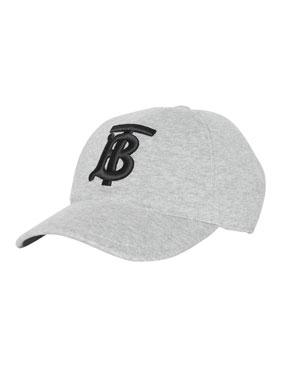 buy popular 3ef3c cdb53 Burberry Men s TB Jersey Baseball Cap, ...