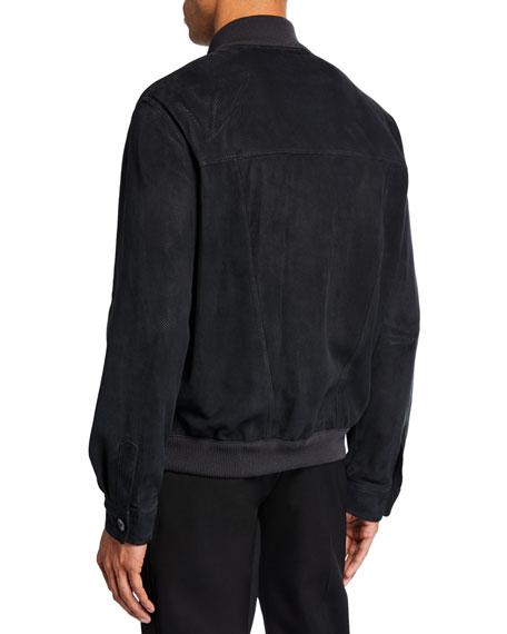 THE ROW Men's James Lambskin Suede Jacket