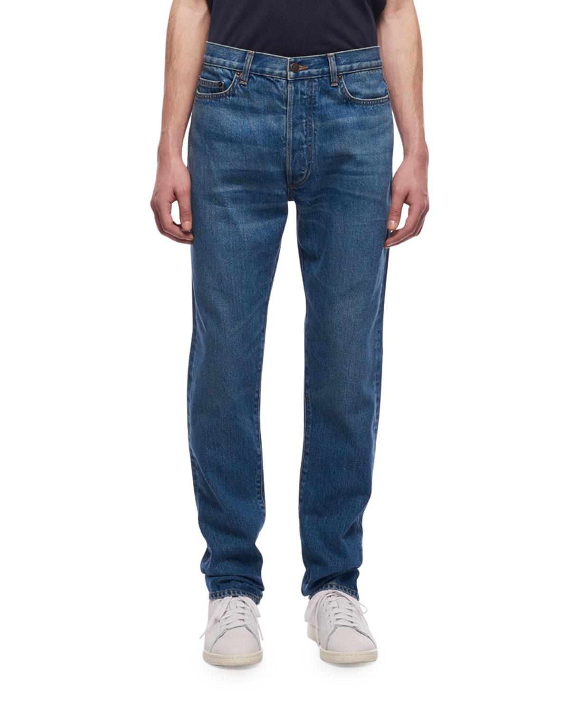 1731814df442 THE ROW Men s Bryan Straight-Leg Jeans