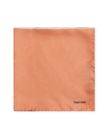 TOM FORD Multicolor Reversible Pocket Square