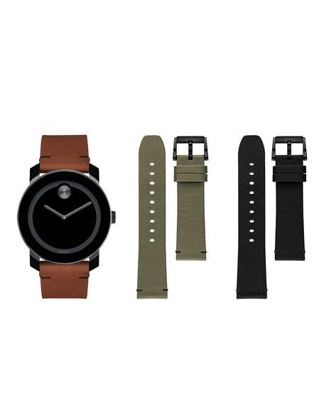 Movado Bold Men's TR-90 Watch Gift Set