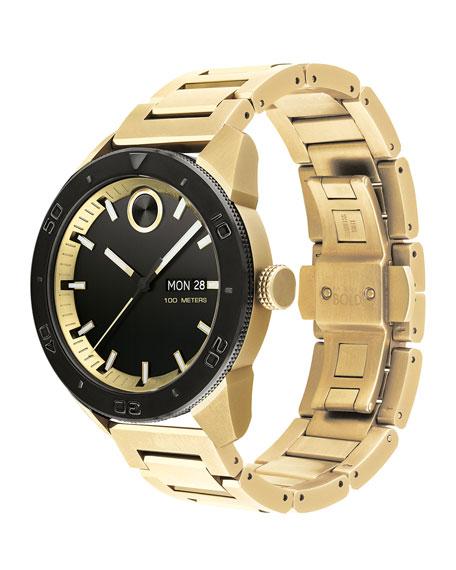 Movado Bold Men's Bold Sport Bracelet Watch, Gold