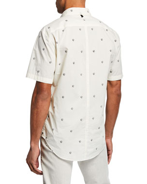 411174a4a Men's Casual Button-Down Shirts at Neiman Marcus