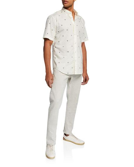 Rag & Bone Men's Standard Issue Fit 2 Mid-Rise Broken Twill Jeans