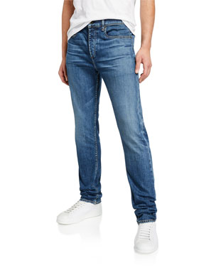 f0be2d85b4a Rag & Bone Men's Standard Issue Fit 2 Slim Jeans, Throop