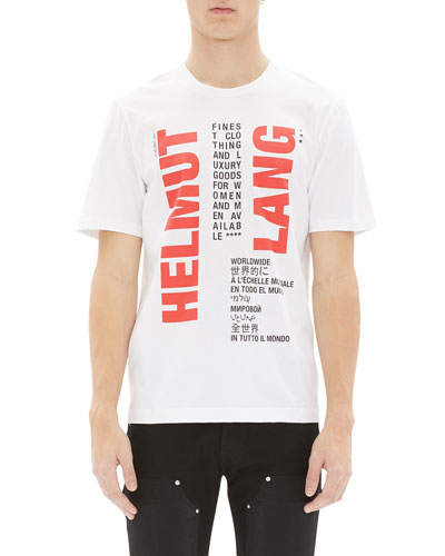 Men's Worldwide Logo Graphic T-Shirt
