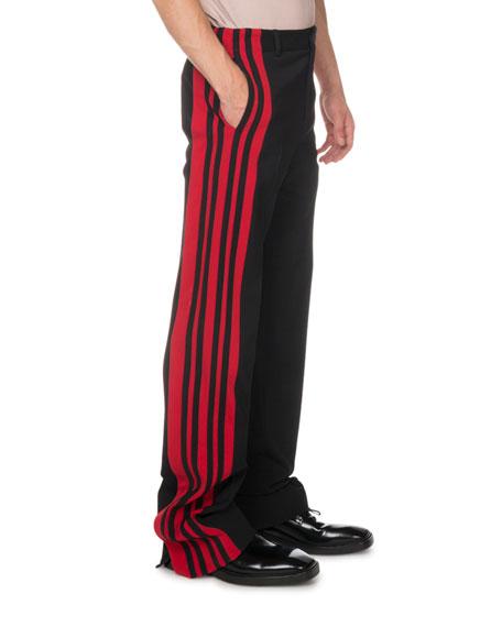 Balenciaga Men's Tuxedo Snap Joggers