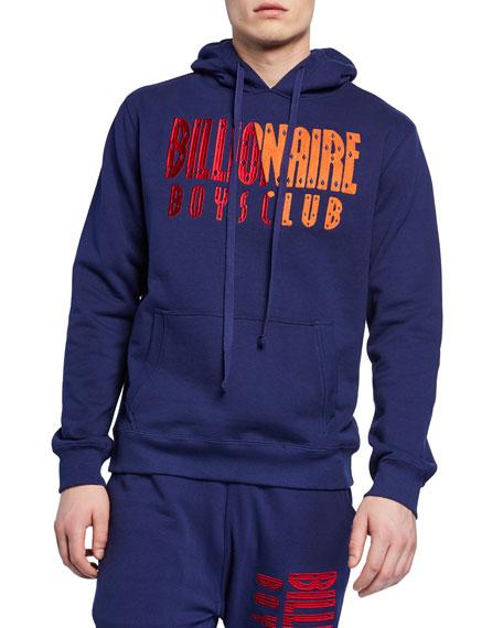 Billionaire Boys Club Men's Parallel Embroidered-Logo Hoodie