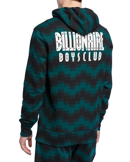 Billionaire Boys Club Men's Digi Graphic Pullover Hoodie