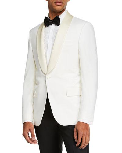 Men's Formal Tasmanian Wool Dinner Jacket