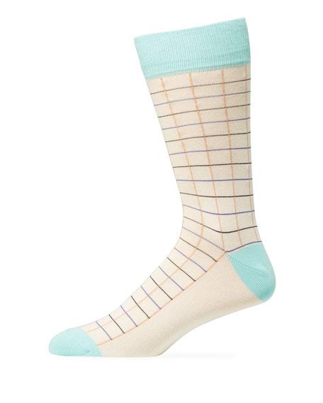 Paul Smith Men's Grid Socks