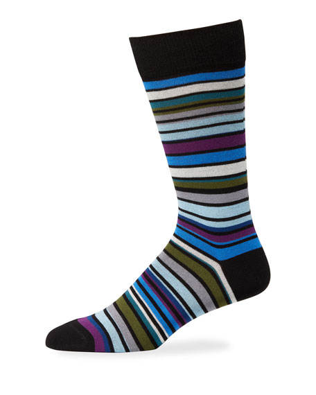 Paul Smith Men's Leo Stripe Socks