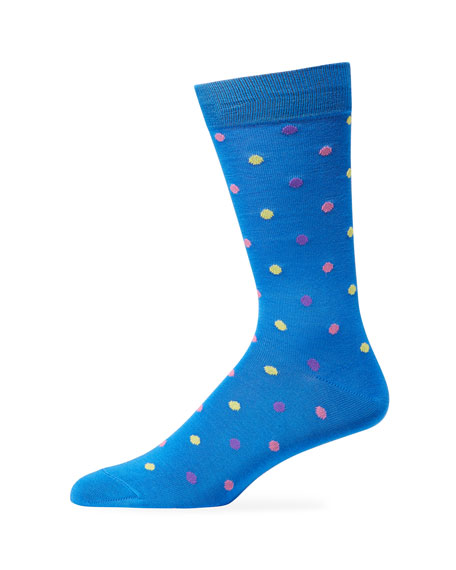 Paul Smith Men's Tiny Dot Socks