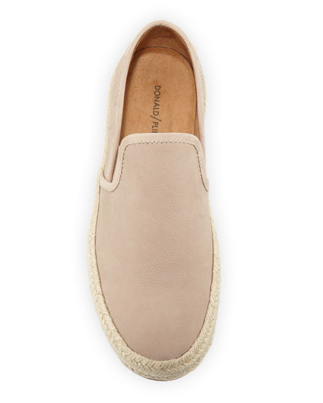 Donald J Pliner Men's Leather & Jute Slip-On Sneakers