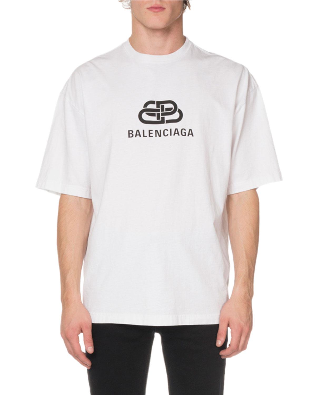 be722a62 Balenciaga Men's BB Mode Regular T-Shirt | Neiman Marcus