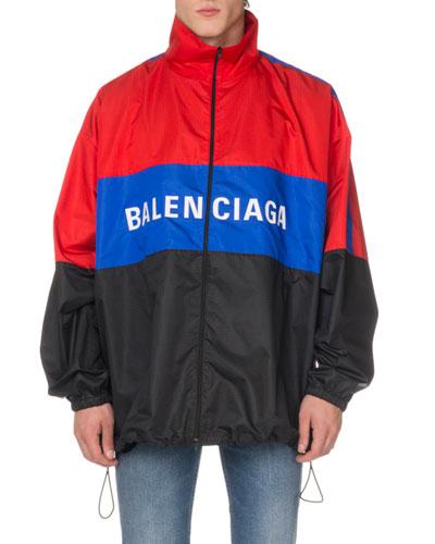 Men's Colorblock Track Jacket
