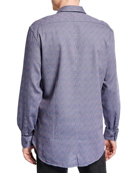 John Varvatos Star USA Men's Ashten Star Wire-Collar Sport Shirt