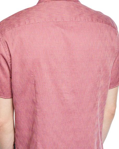 John Varvatos Star USA Men's Clyde Short-Sleeve Sport Shirt