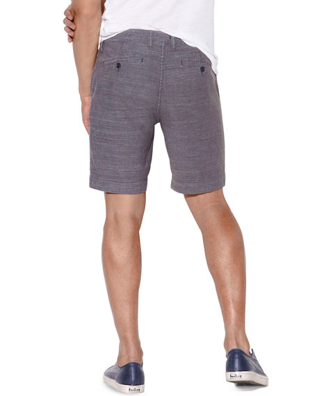 John Varvatos Star USA Men's Johnny Flat-Front Shorts