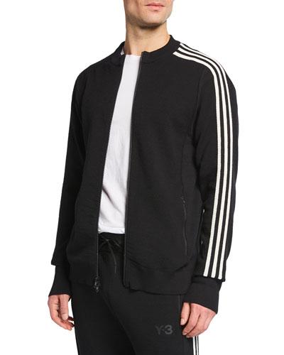 Men's 3-Stripe Knitted Track Jacket