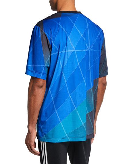 Y-3 Men's Graphic Football T-Shirt