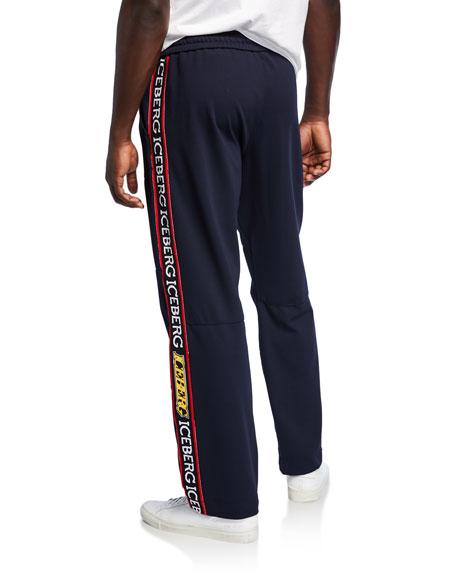 Iceberg Men's Logo-Side Track Pants