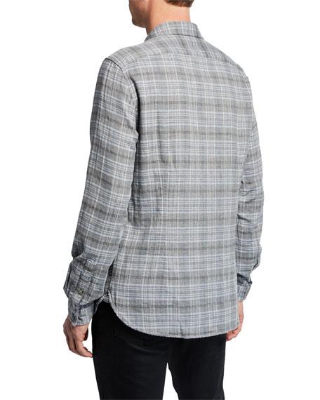 John Varvatos Star USA Men's Neil Reversed Sport Shirt