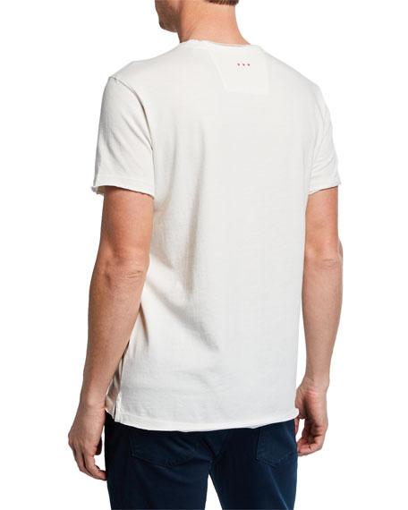 John Varvatos Star USA Men's Peace Typographic T-Shirt