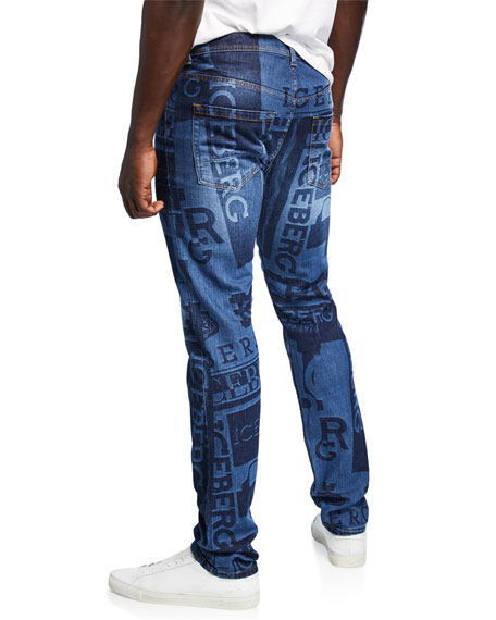 Iceberg Men's Logo Denim Jeans