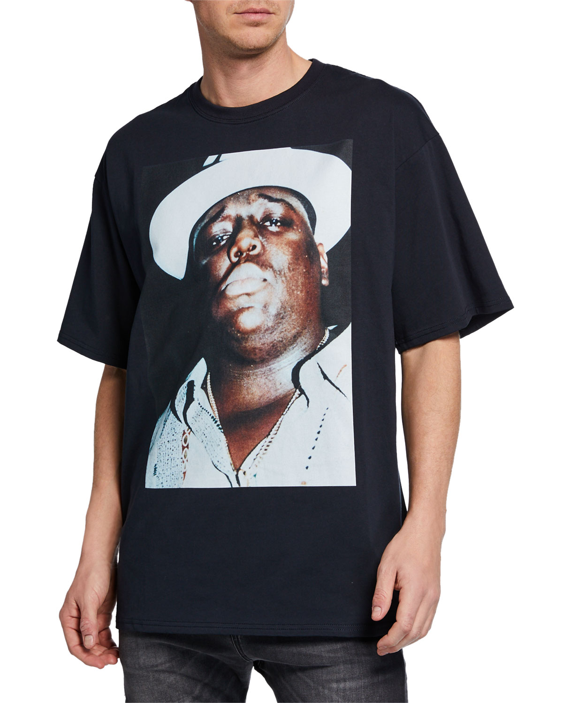 20405714c R13 Men's Notorious B.I.G. Oversized T-Shirt | Neiman Marcus