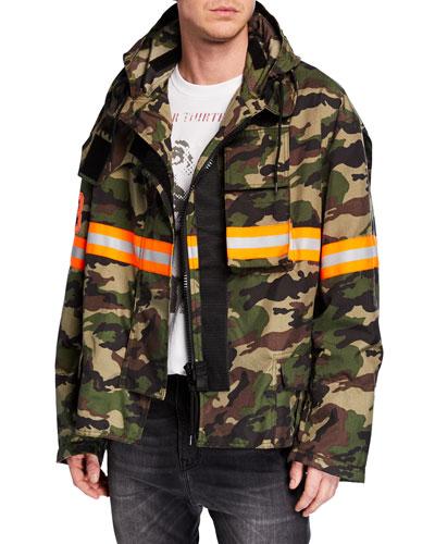 Men's Camo Fireman Jacket