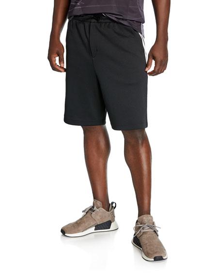 Y-3 Men's Three Stripe Track Shorts