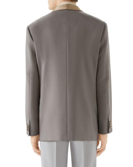 Gucci Men's Shawl-Collar Evening Jacket