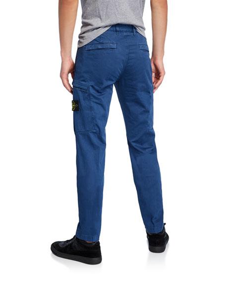 Stone Island Men's Paneled Cotton Pants