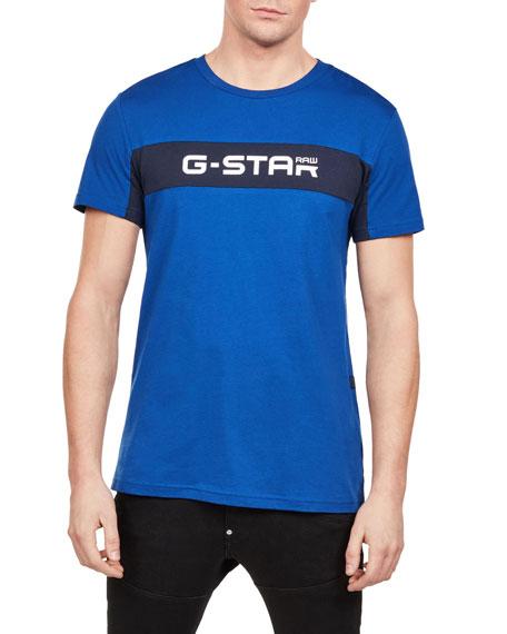 G-Star Men's Logo Typographic T-Shirt