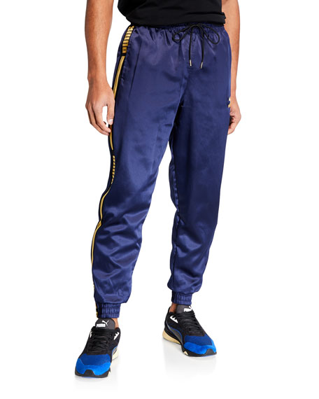 Puma Men's Luxe Pack Satin Track Pants