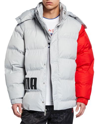 Men's x Ader Colorblock Puffer Jacket