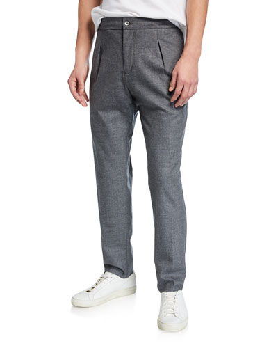 Men's Heathered Cashmere Pants