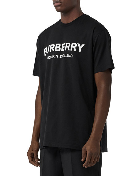 Burberry Men's Letchford Logo-Graphic T-Shirt
