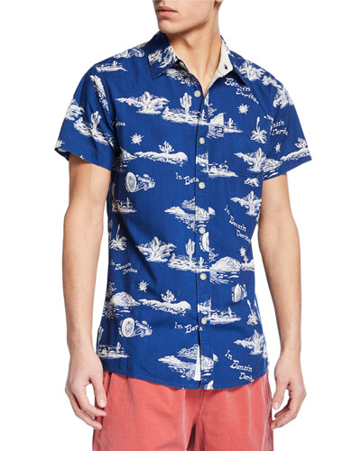 Men's Ralph Springs Short-Sleeve Sport Shirt