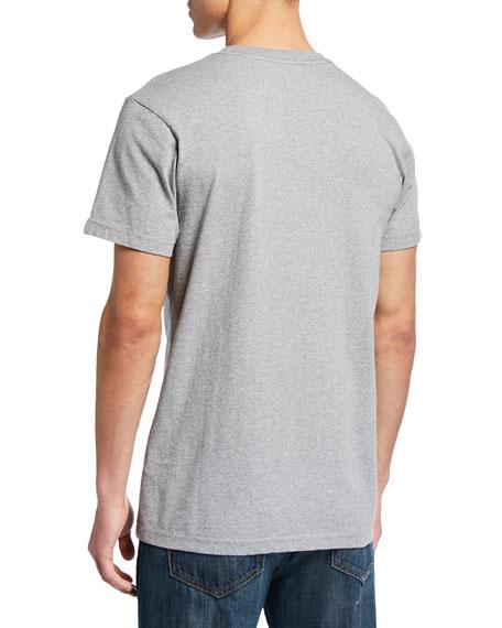 Deus Ex Machina Men's Curvy Typographic T-Shirt