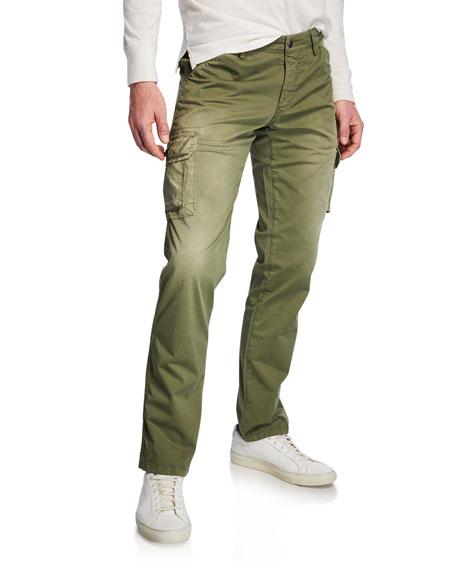 Neiman Marcus Men's Stretch-Twill Cargo Pants
