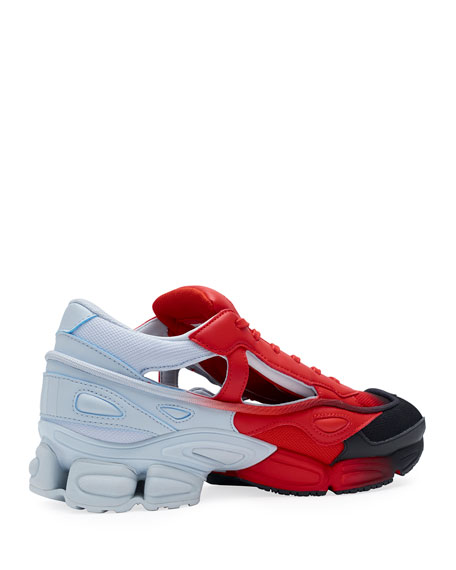 adidas by Raf Simons Men's Replicant Ozweego Dipped Color Trainer Sneakers