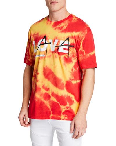 Men's Love Lava Punch Treatment T-Shirt