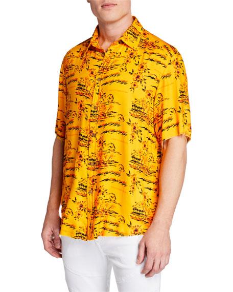 Mauna Kea Men's Hawaii Island Short-Sleeve Shirt