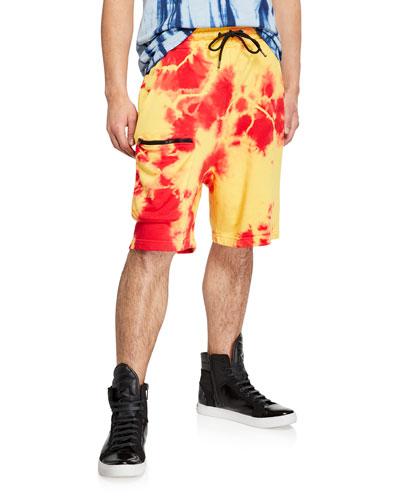 Men's Multicolor Pocket Basketball Shorts
