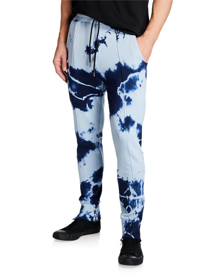 Mauna Kea Men's Punch Treatment Tie-Dye Jogger Pants