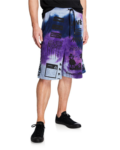 Men's Multicolor Manifesto Basketball Shorts