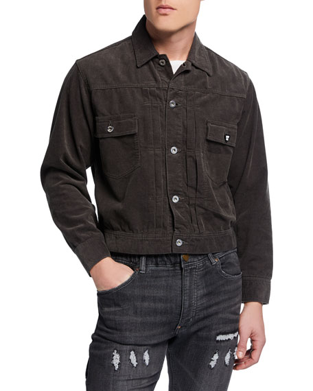 HUMAN MADE Men's HBZ Corduroy Work Jacket